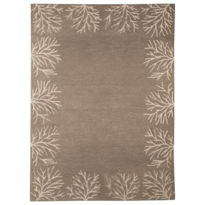Signature Design by Ashley Transitional Area Rugs Kierin Brown Medium Rug