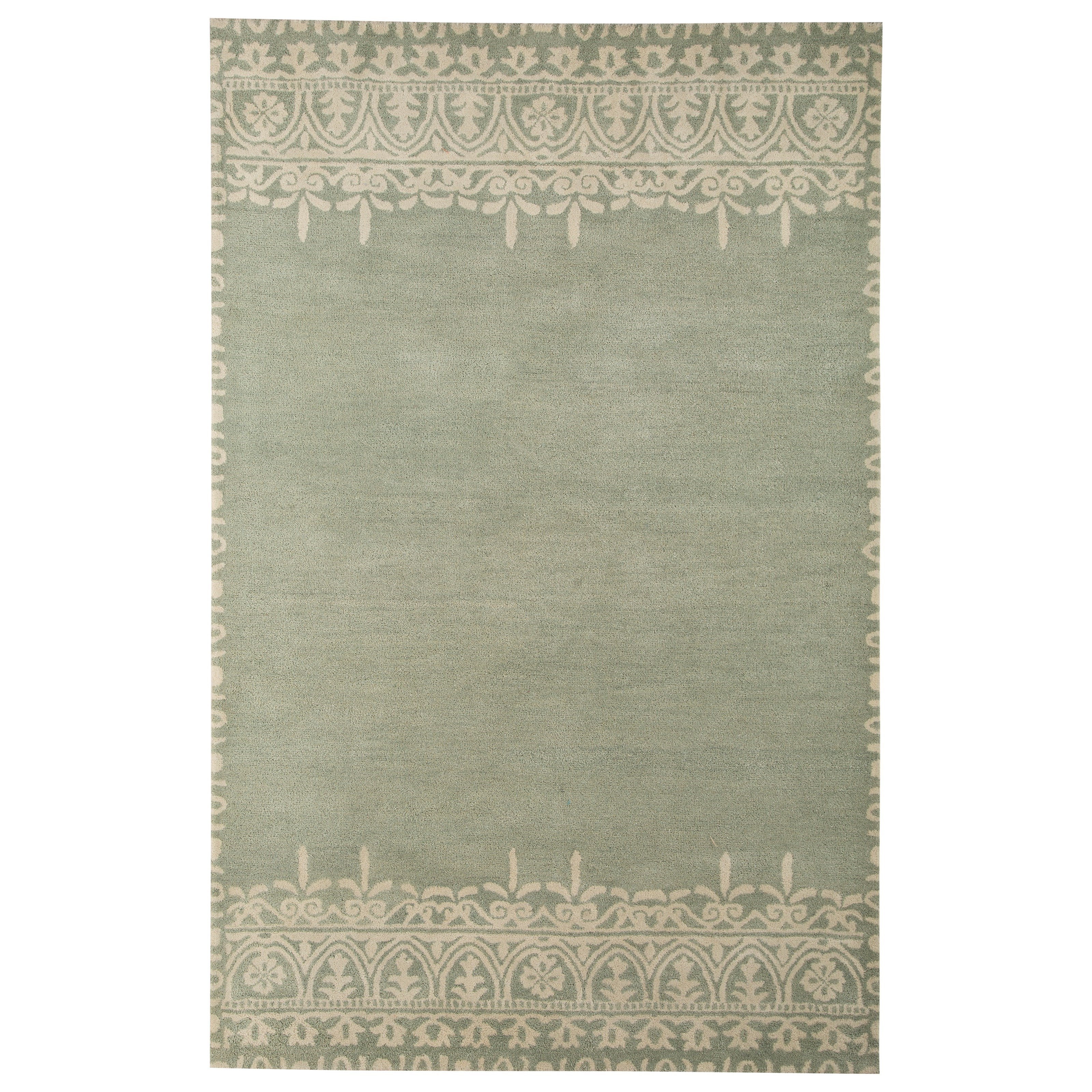 Signature Design by Ashley Transitional Area Rugs Brimly Green Medium Rug - Item Number: R400362