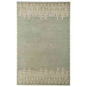 Signature Design by Ashley Transitional Area Rugs Brimly Green Large Rug