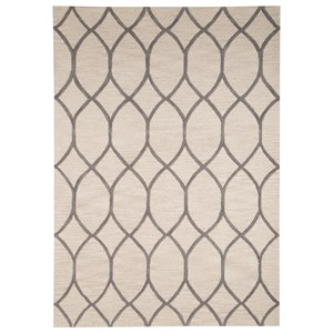 Signature Design by Ashley Transitional Area Rugs Lauder Cream Medium Rug