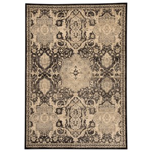 Signature Design by Ashley Transitional Area Rugs Anzhell - Black Large Rug
