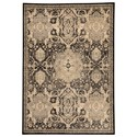 Signature Design by Ashley Transitional Area Rugs Anzhell - Black Medium Rug - Item Number: R401052