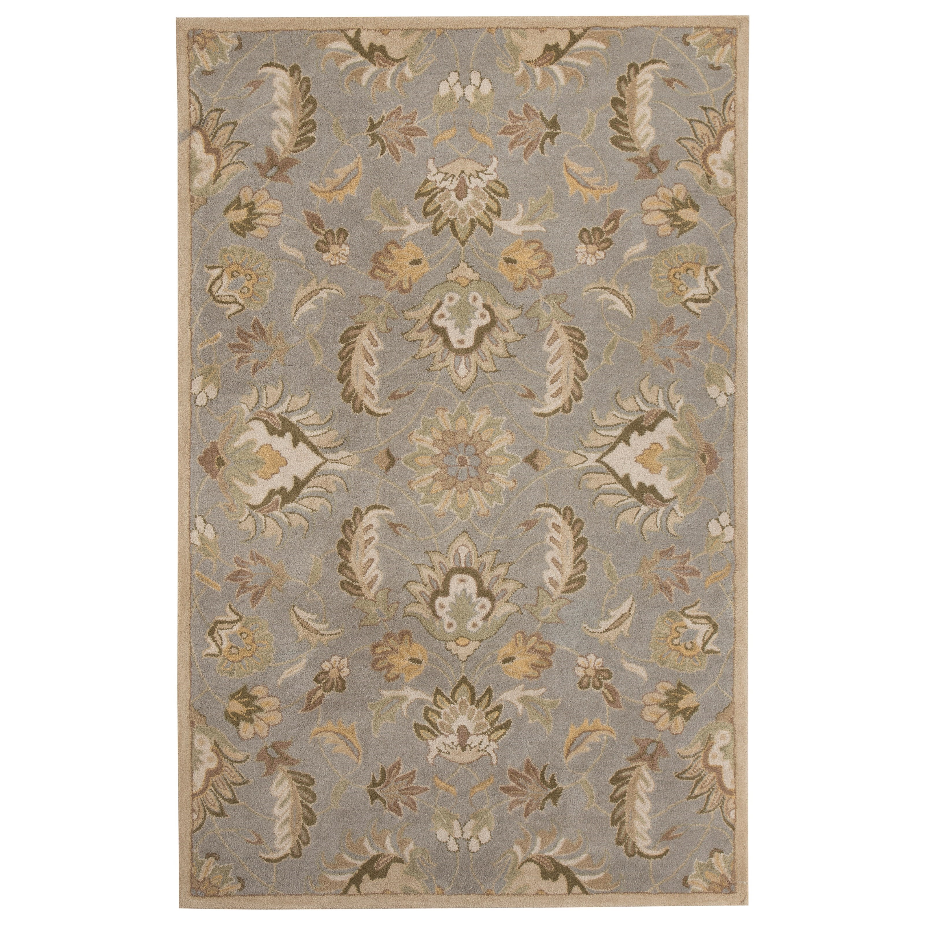 Signature Design by Ashley Transitional Area Rugs Flannigan Sage Green Medium Rug - Item Number: R401102