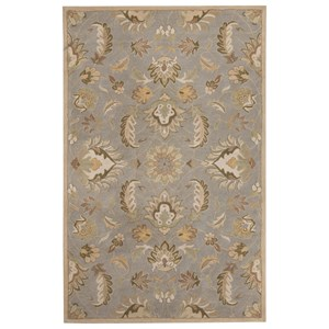 Signature Design by Ashley Transitional Area Rugs Flannigan Sage Green Medium Rug