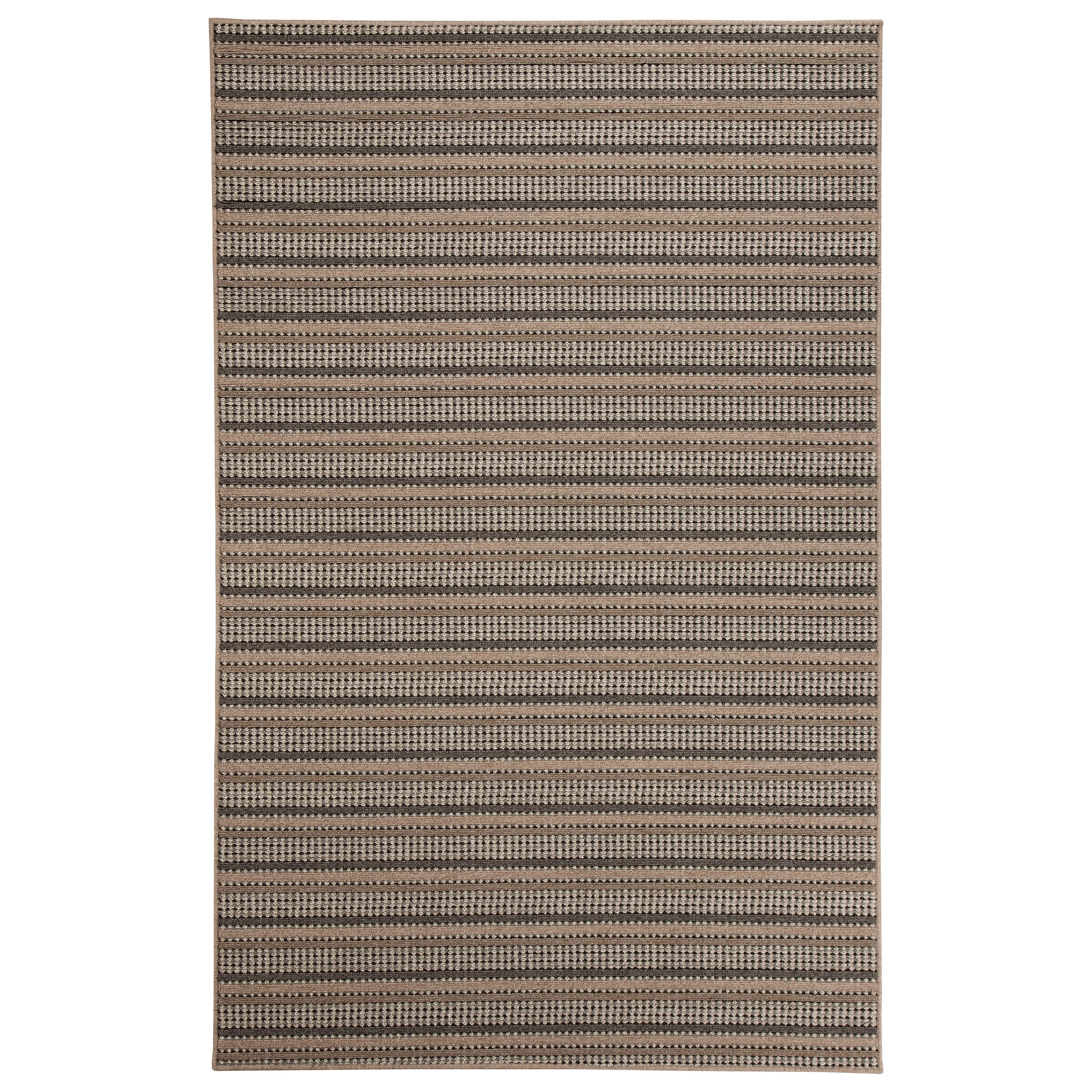 Signature Design by Ashley Transitional Area Rugs Kyley Taupe Medium Rug - Item Number: R401152