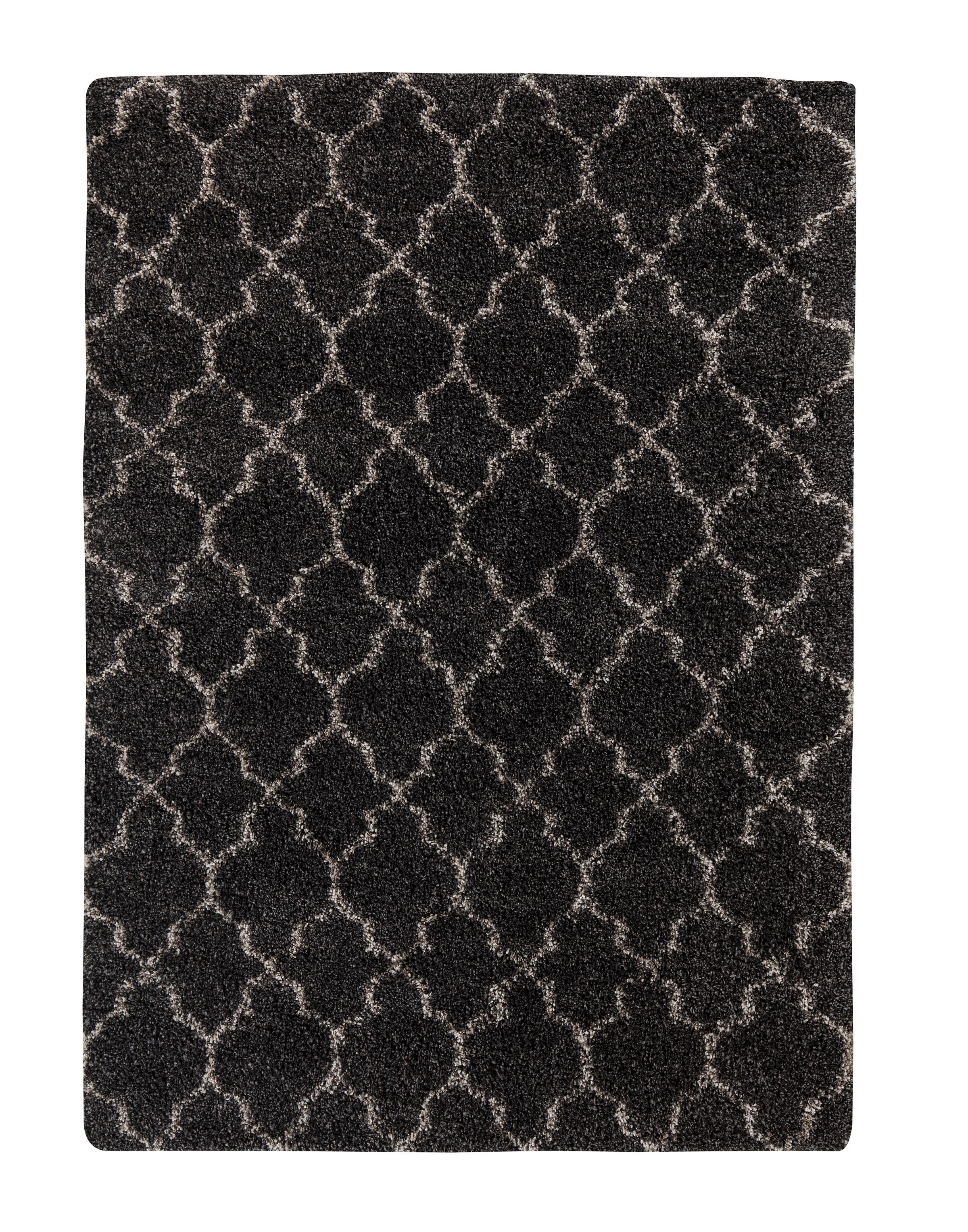 Signature Design by Ashley Transitional Area Rugs Gate - Black Large Rug - Item Number: R401191