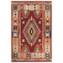 Signature Design by Ashley Transitional Area Rugs Oisin Brick Large Rug - Item Number: R401331