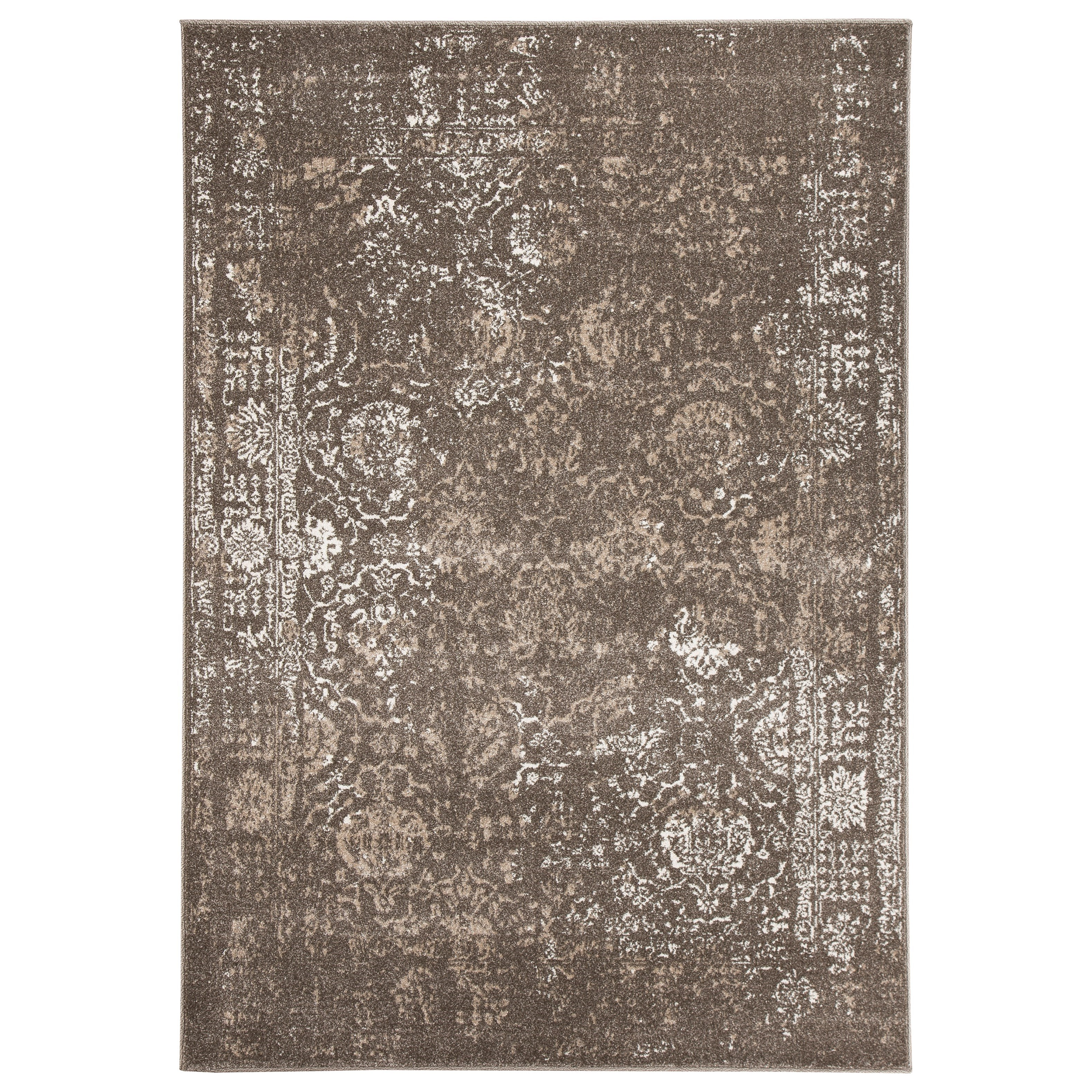 Signature Design by Ashley Transitional Area Rugs Patras Brown Large Rug - Item Number: R401401