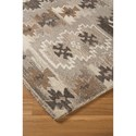 Signature Design by Ashley Transitional Area Rugs Porcinni Gray Large Rug