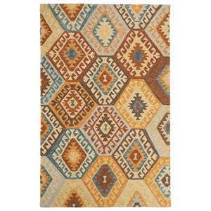 Signature Design by Ashley Transitional Area Rugs Calamone Multi Medium Rug