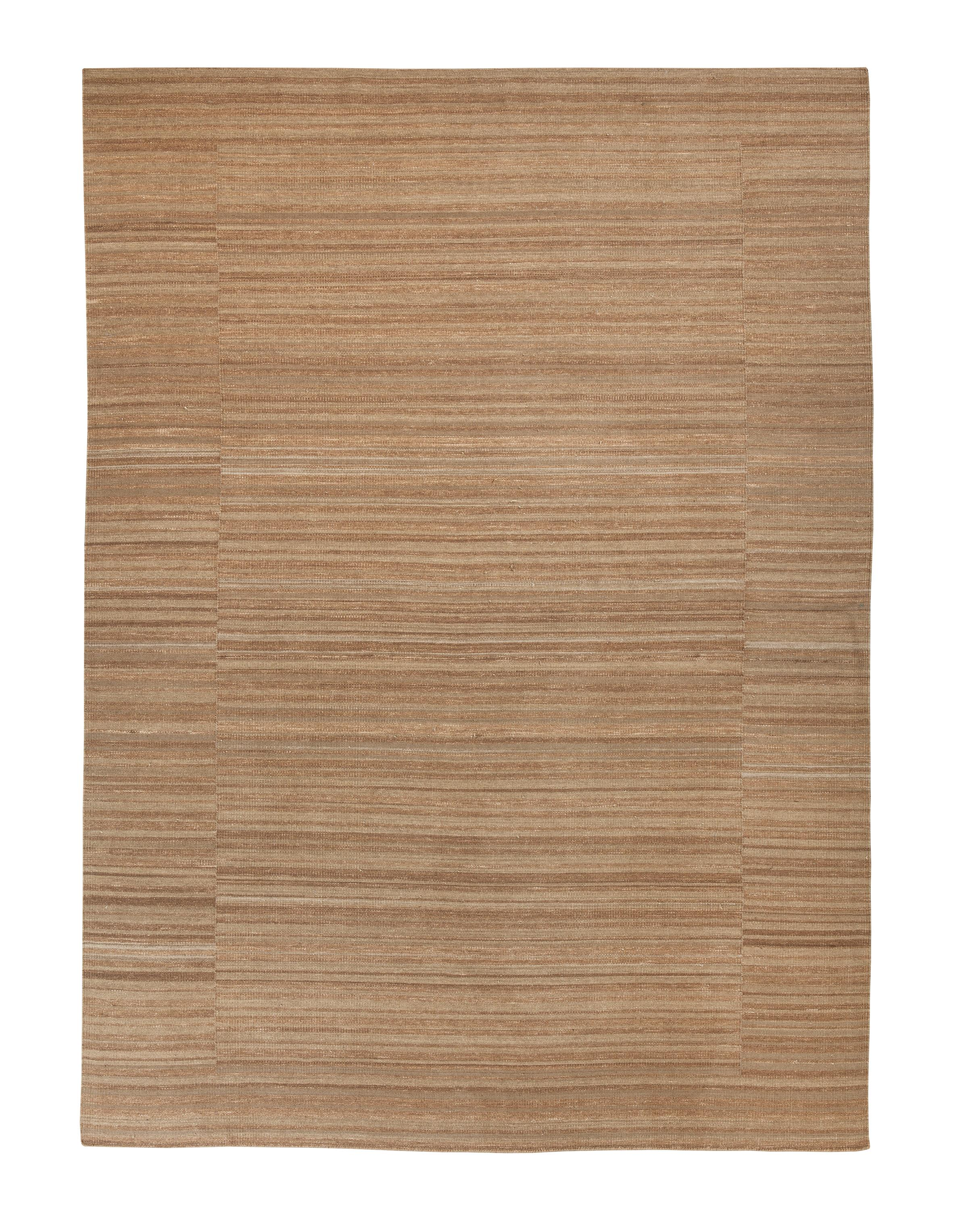 Signature Design by Ashley Transitional Area Rugs Flatweave - Tan Medium Rug - Item Number: R401592