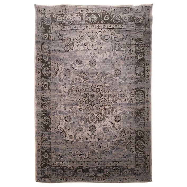 Signature Design by Ashley Transitional Area Rugs Kyan Blue/Ivory Large Rug - Item Number: R401721