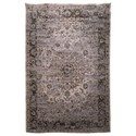 Signature Design by Ashley Transitional Area Rugs Kyan Blue/Ivory Medium Rug - Item Number: R401722