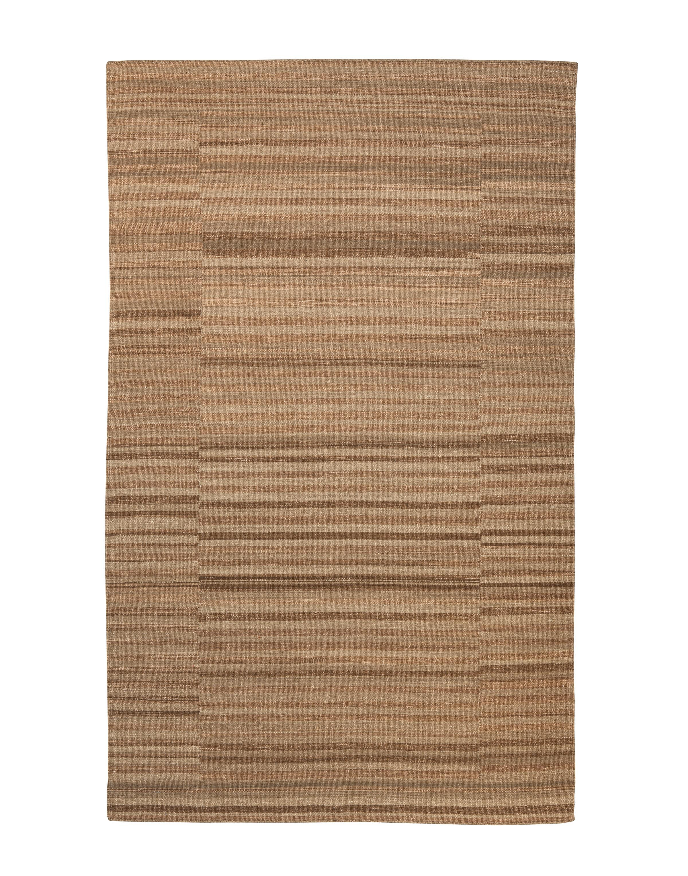 Signature Design by Ashley Transitional Area Rugs Flatweave - Taupe Medium Rug - Item Number: R401742