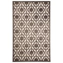 Signature Design by Ashley Transitional Area Rugs Daishiro Gray Medium Rug - Item Number: R401902