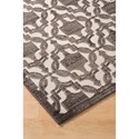 Signature Design by Ashley Transitional Area Rugs Daishiro Gray Medium Rug