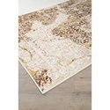 Signature Design by Ashley Transitional Area Rugs Jariath Ivory/Brown Medium Rug