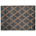 Benchcraft Transitional Area Rugs Natalius Black/Gold Medium Rug - Item Number: R403962