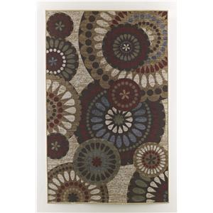 Ashley Signature Design Transitional Area Rugs Cece - Multi Medium Rug