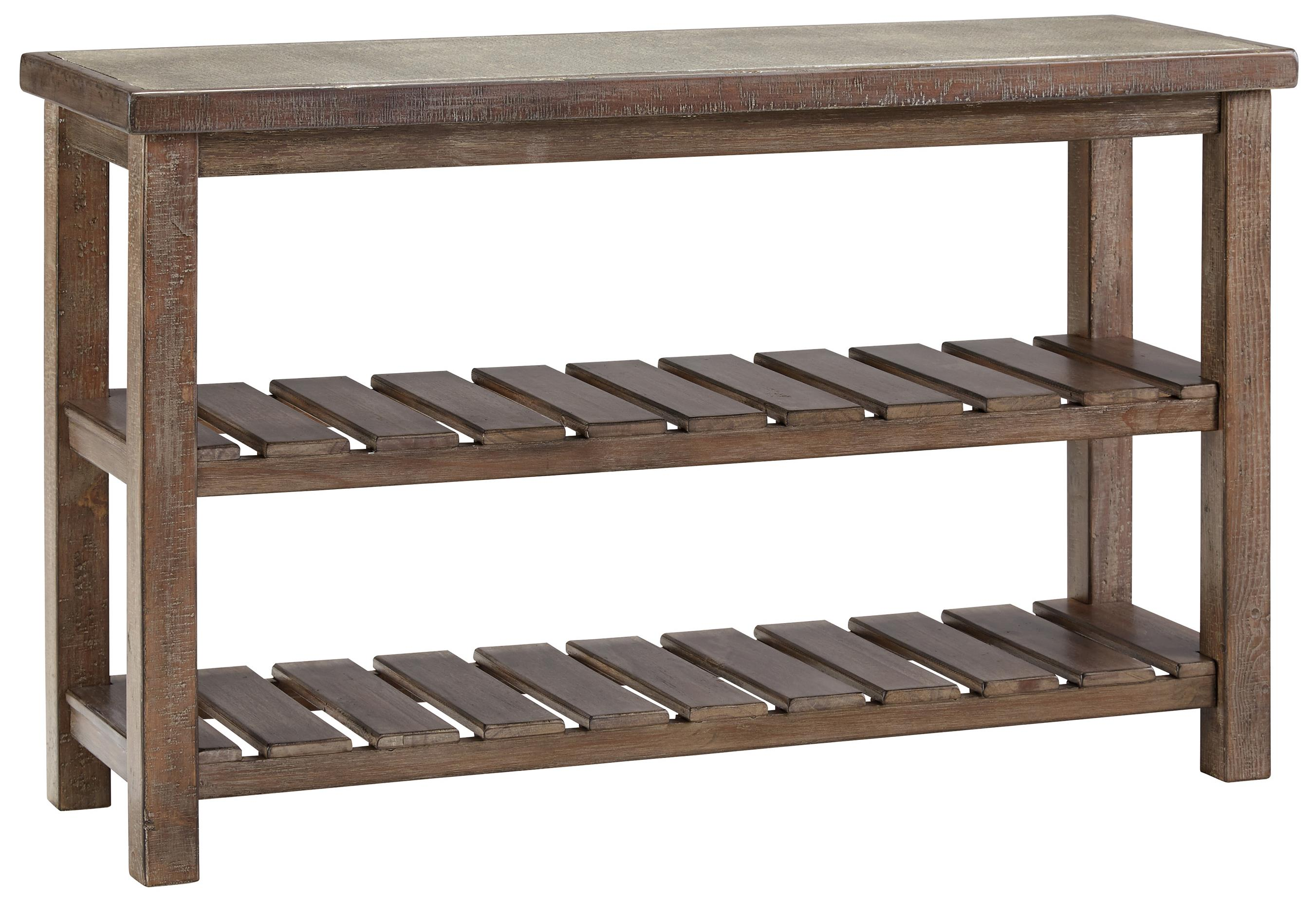 Signature Design by Ashley Vennilux Sofa Table - Item Number: T500-104