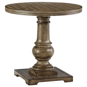 Signature Design by Ashley Furniture Vennilux Round End Table