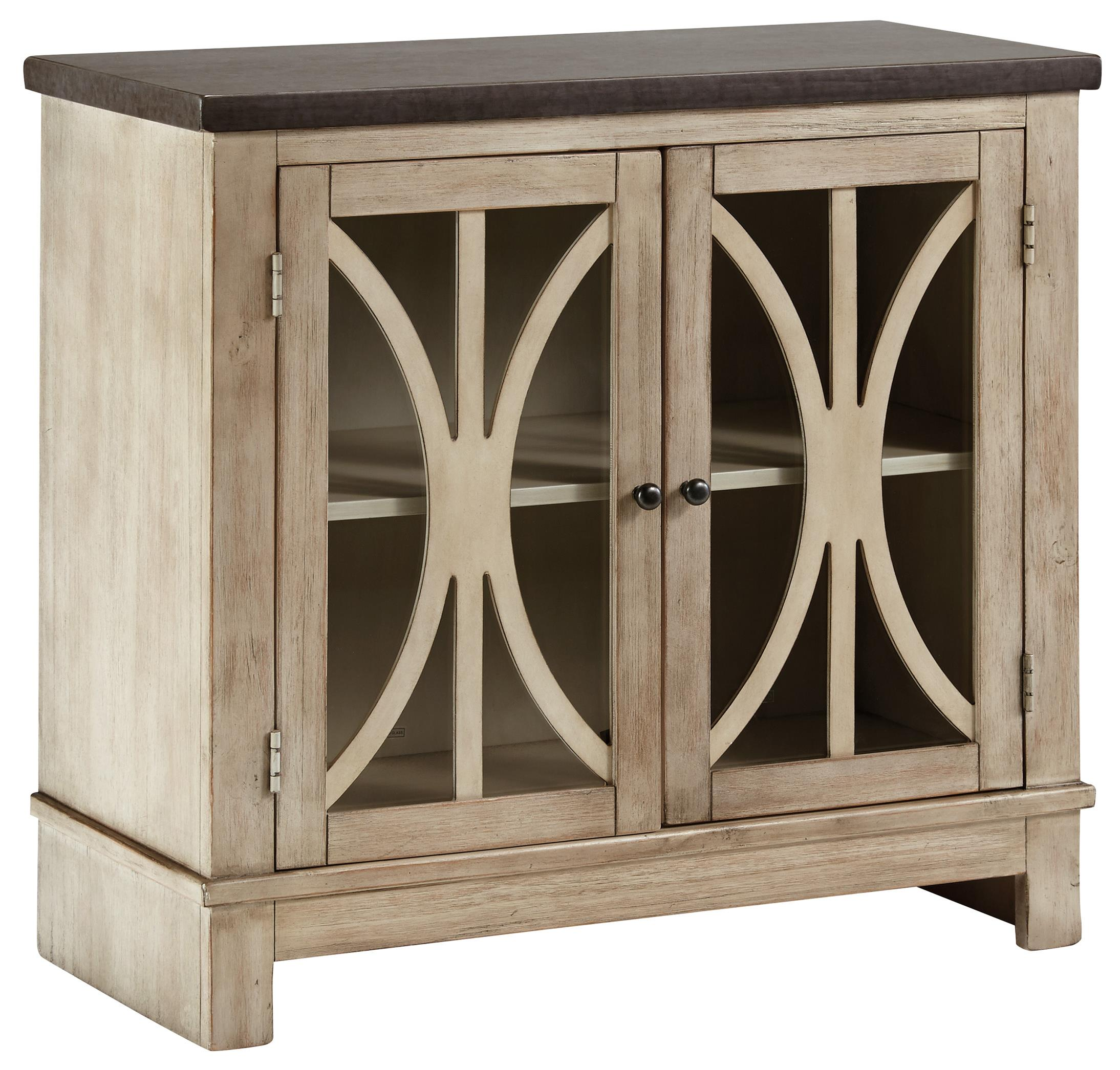 Signature Design by Ashley Vennilux Door Accent Cabinet - Item Number: T500-332