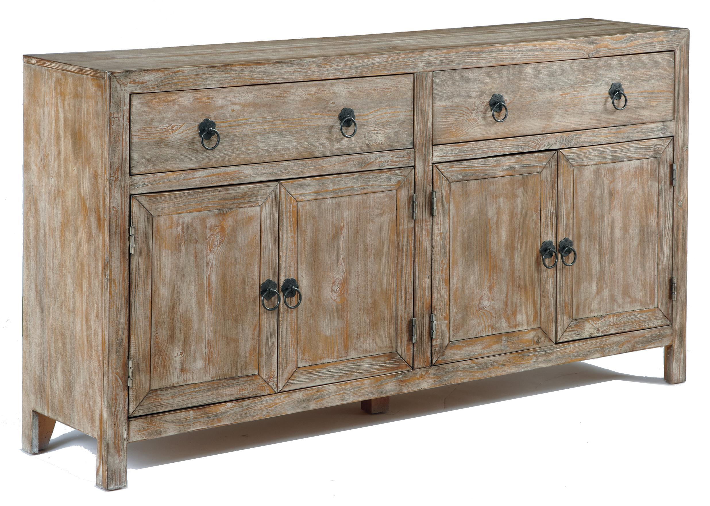 Vennilux Rustic Accent Cabinet In Distressed Finish By Signature Design By  Ashley