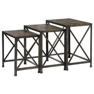 Signature Design by Ashley Furniture Vennilux Nesting End Tables