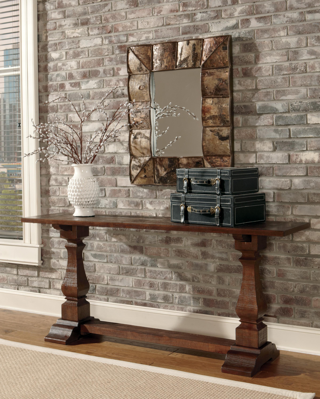 Foyer Table Ashley Furniture : Signature design by ashley vennilux t console table