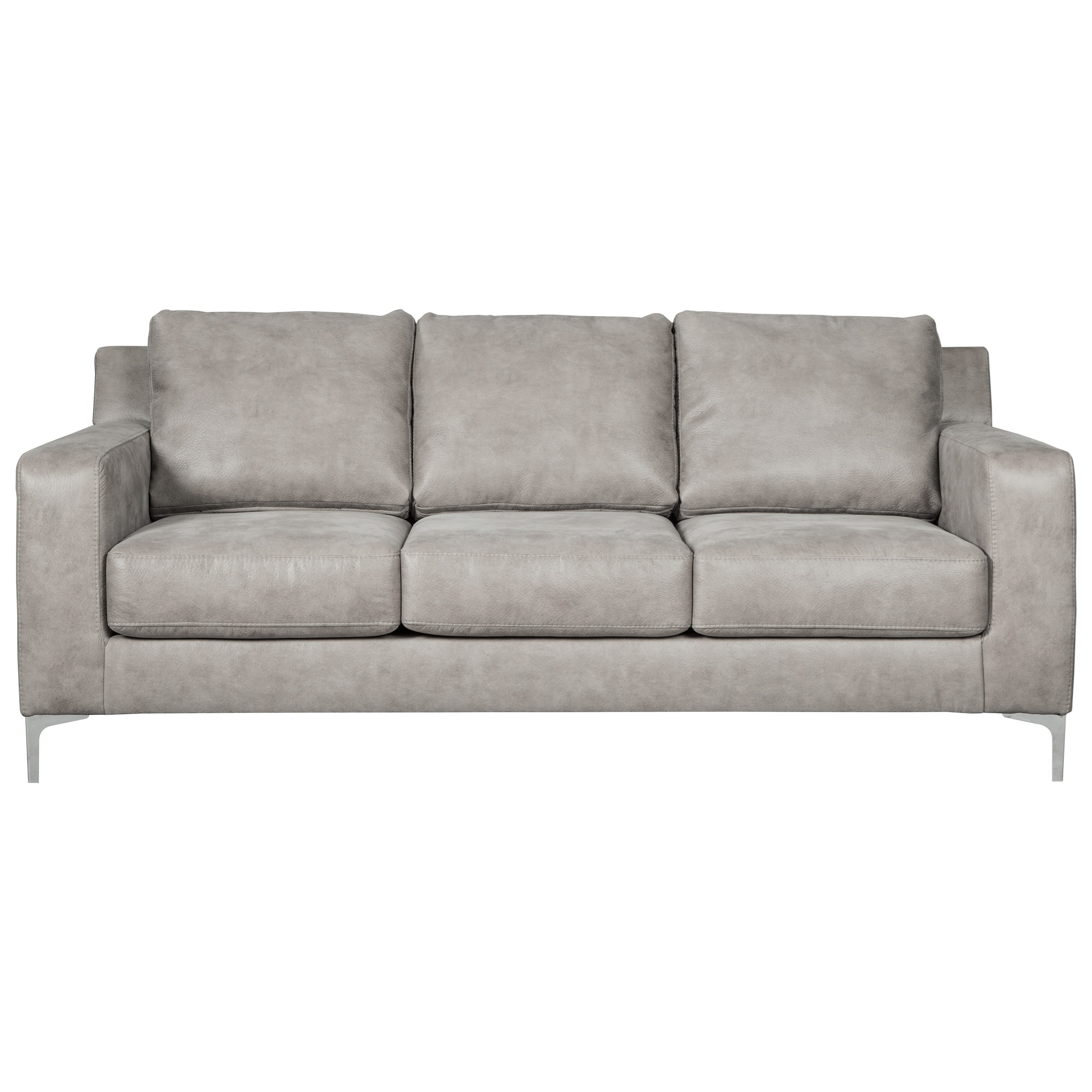 "Ashley Furniture Sofas: Signature Design By Ashley Ryler 85"" Contemporary Sofa"