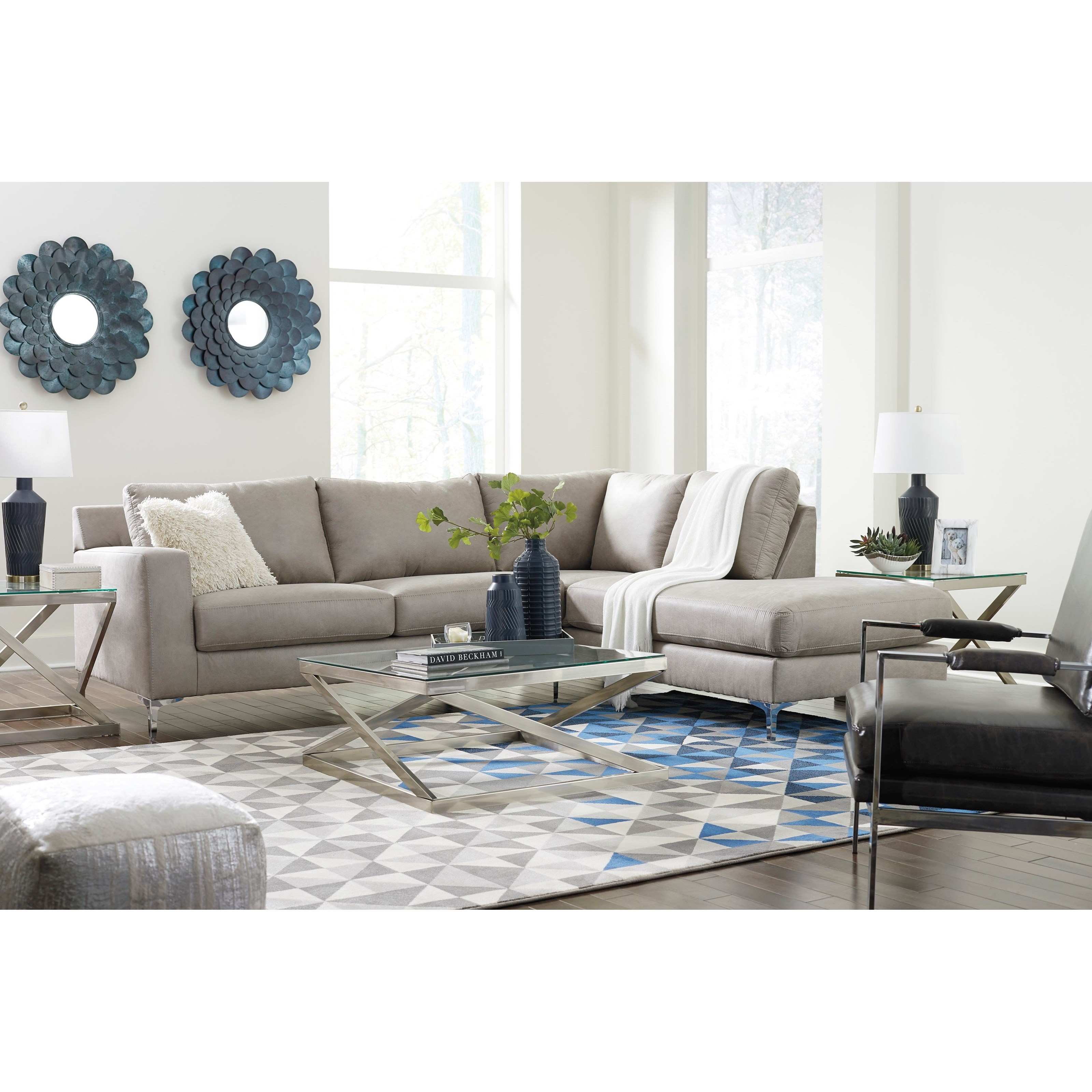 Signature Design By Ashley Ryler Sectional Abode