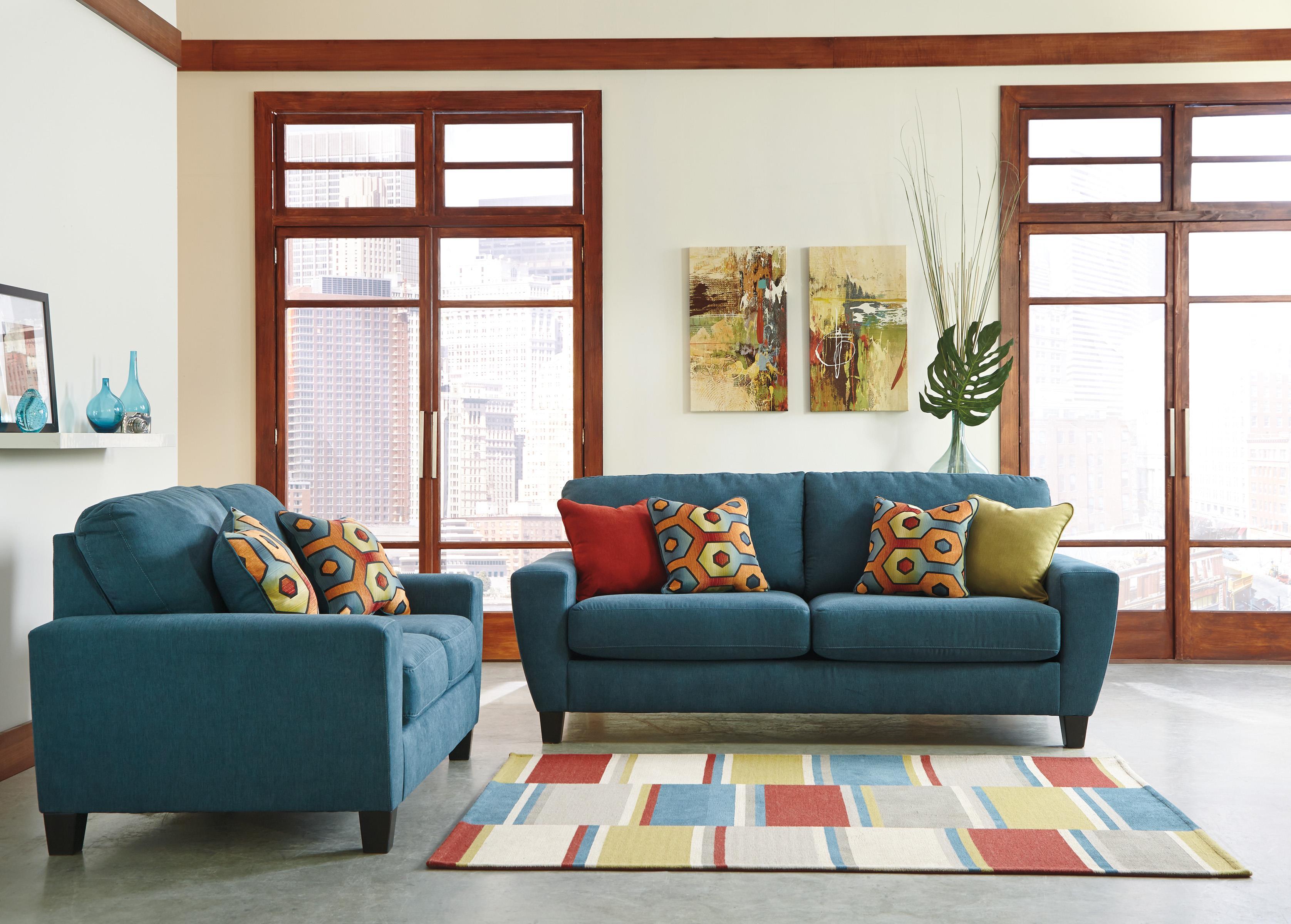 Signature Design by Ashley Sagen Stationary Living Room Group - Item Number: 93902 Living Room Group 1