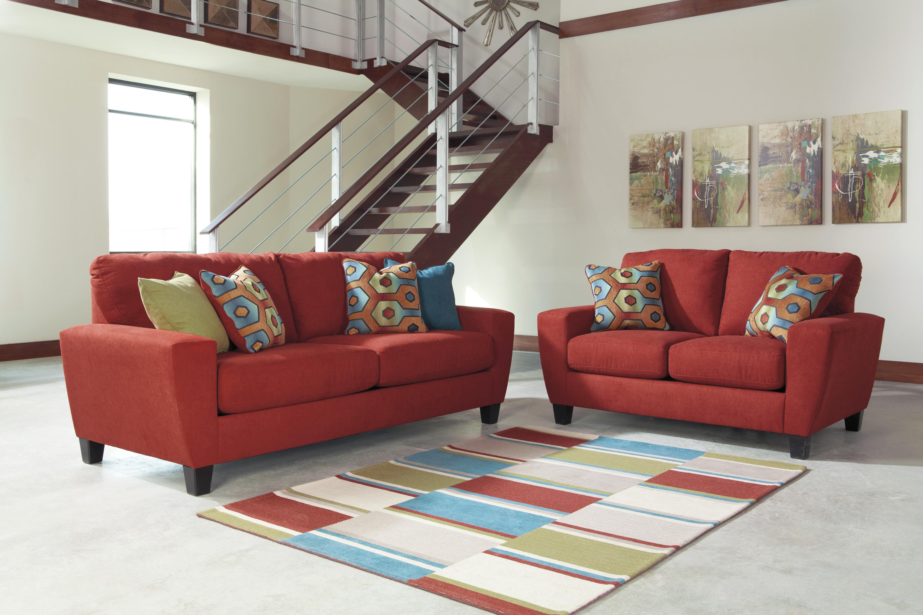 Signature Design by Ashley Sagen Stationary Living Room Group - Item Number: 93903 Living Room Group 1