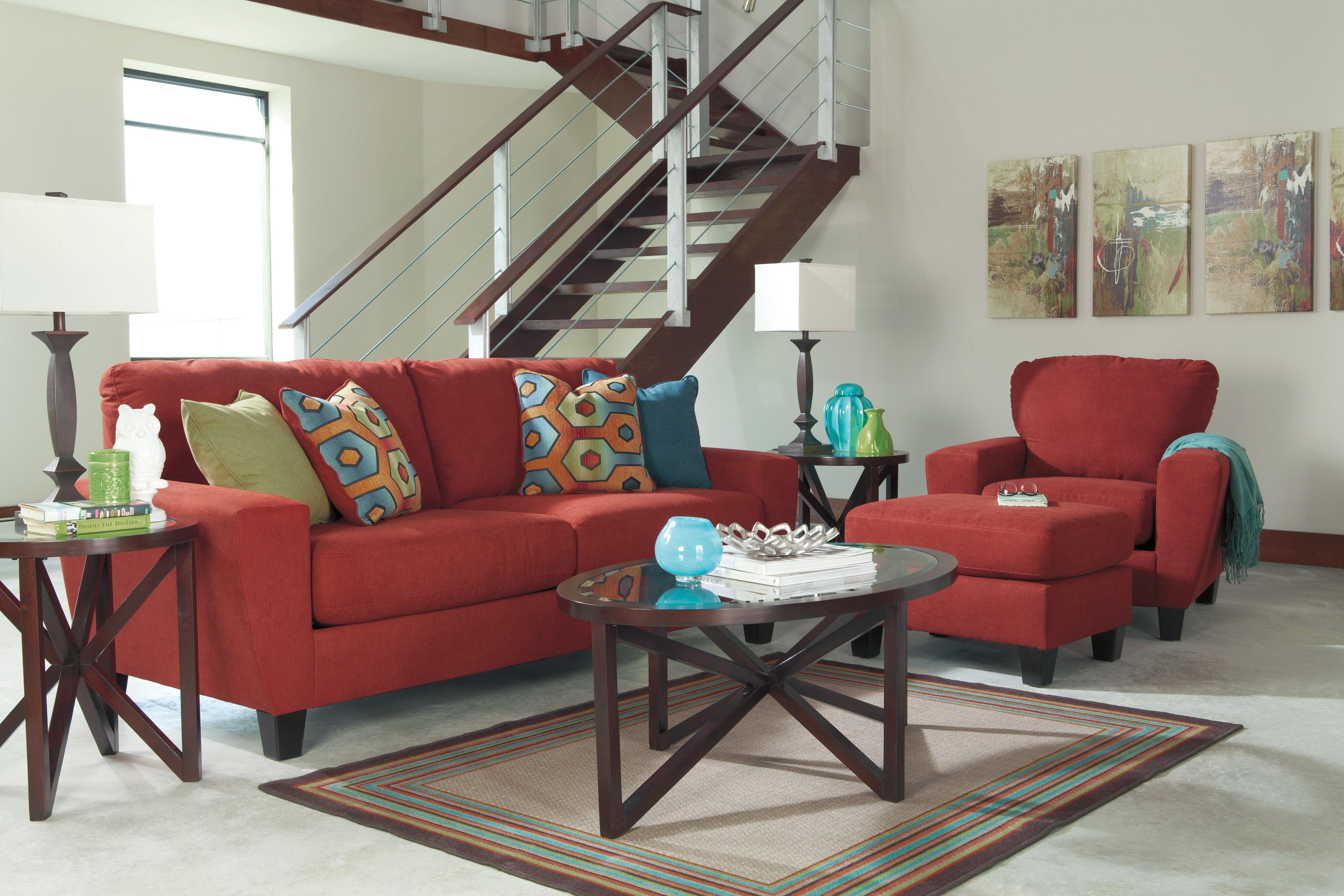 Signature Design by Ashley Sagen Stationary Living Room Group - Item Number: 93903 Living Room Group 2