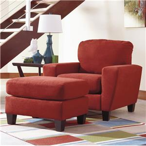 Signature Design by Ashley Sagen Chair & Ottoman