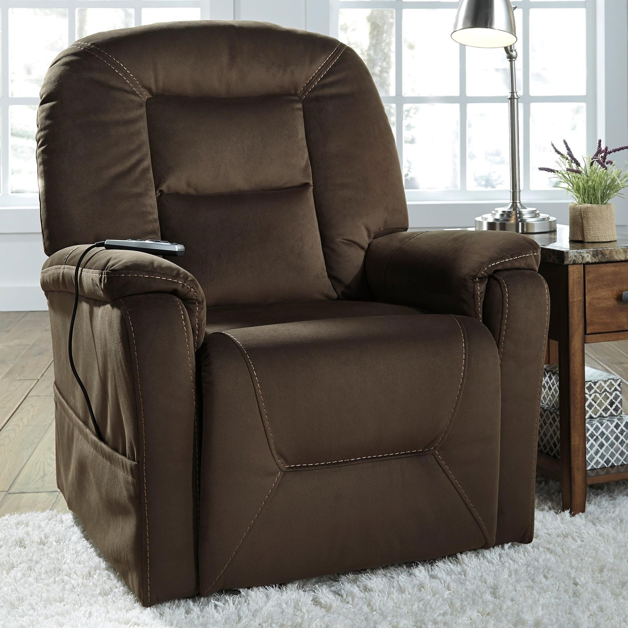 Signature Design By Ashley Samir Power Lift Recliner With
