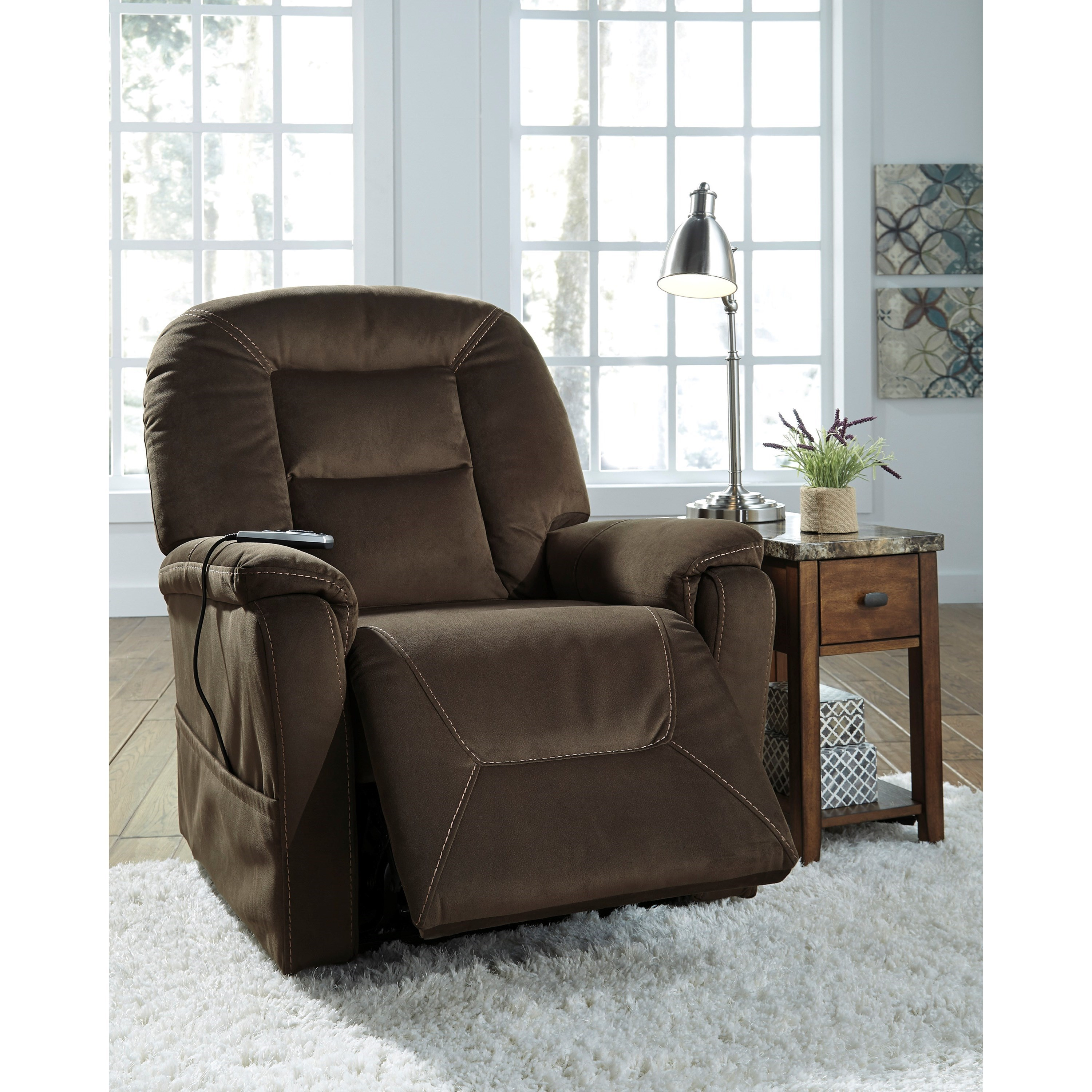 Ashley Signature Design Samir Power Lift Recliner With