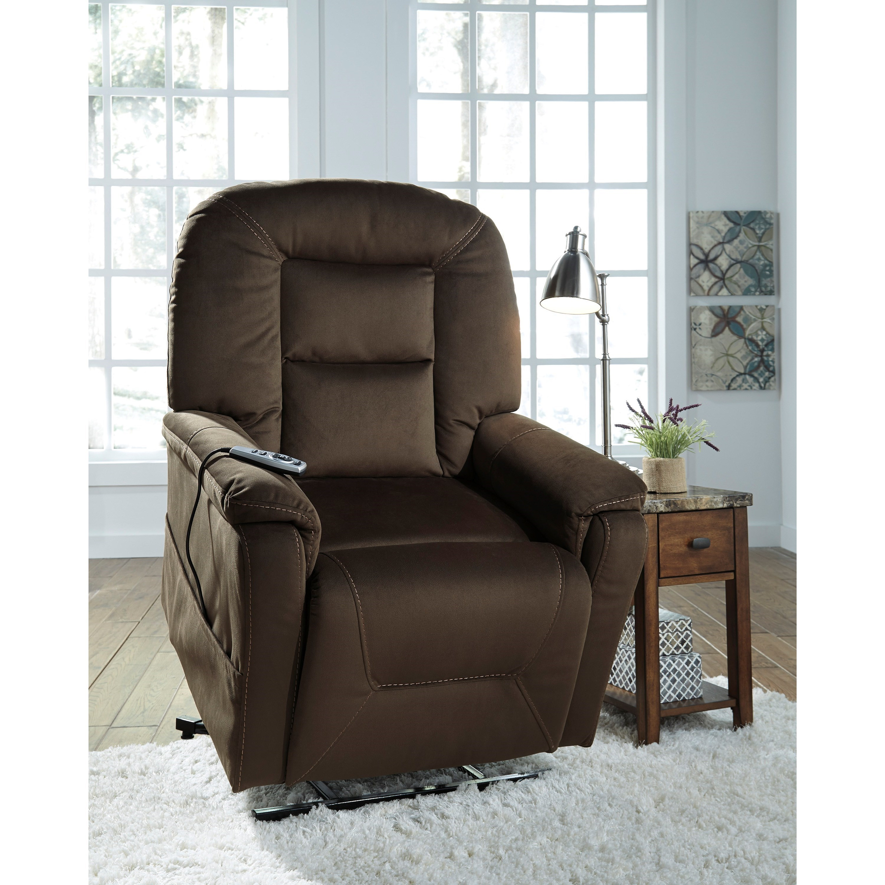 Del Sol As Samir 2080112 Power Lift Recliner With Massage