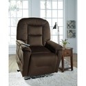 Signature Design by Ashley Samir Power Lift Recliner with Massage and Heat