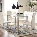 Signature Design by Ashley Sariden Five Piece Chair & Table Set - Item Number: D170-125+4x02
