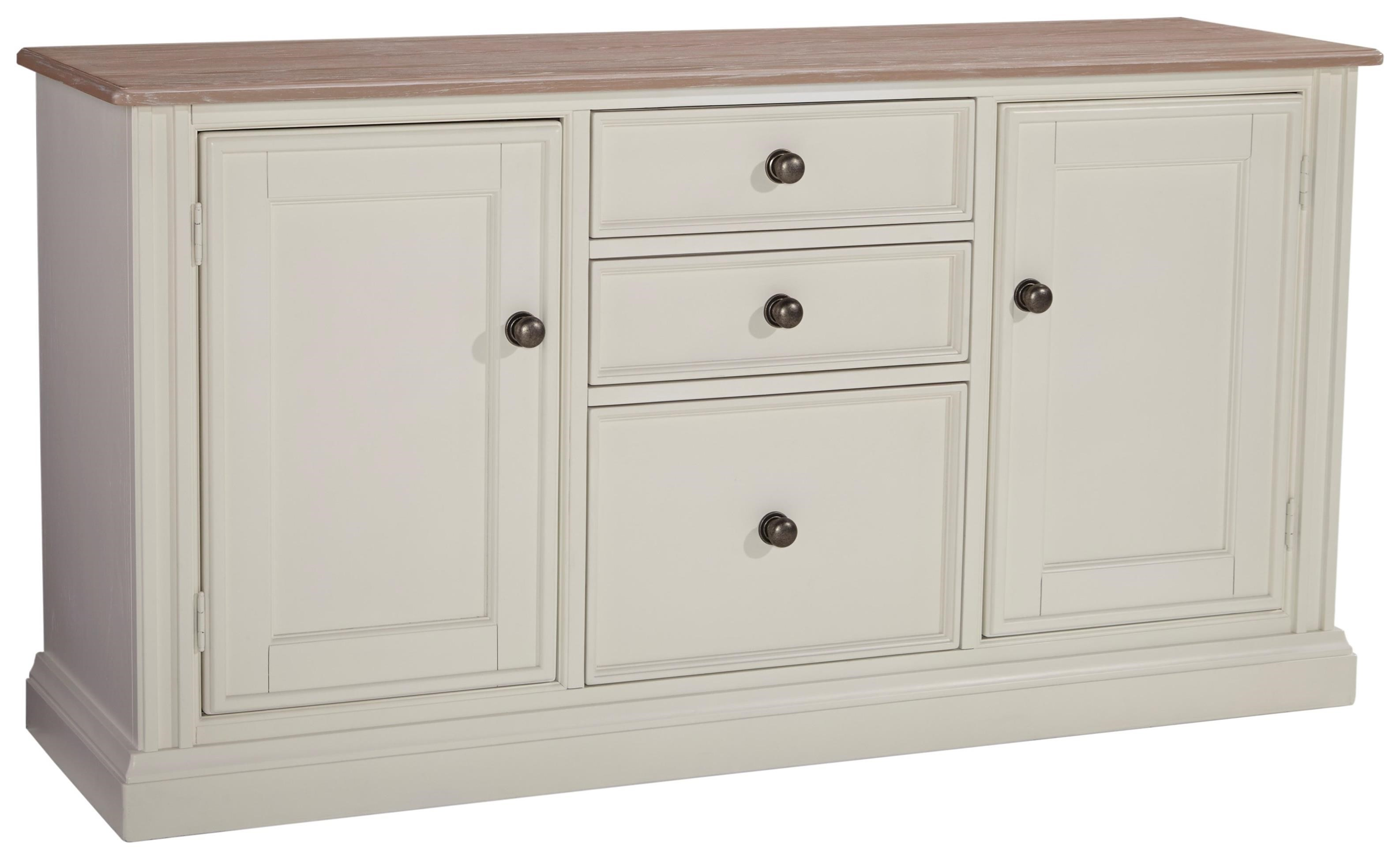 Signature Design by Ashley Sarvanny Large Credenza - Item Number: H583-46