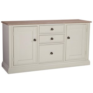 Signature Design by Ashley Sarvanny Large Credenza