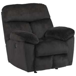Signature Design by Ashley Saul Power Rocker Recliner