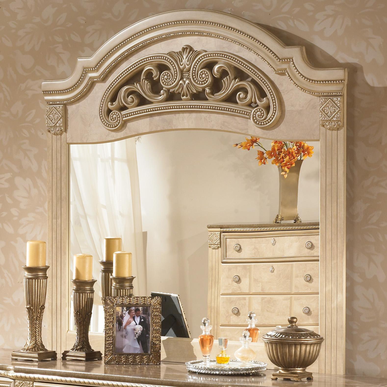 Signature Design by Ashley Saveaha Bedroom Mirror - Item Number: B346-36