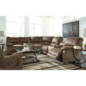 Signature Design by Ashley Seamus Reclining Living Room Group