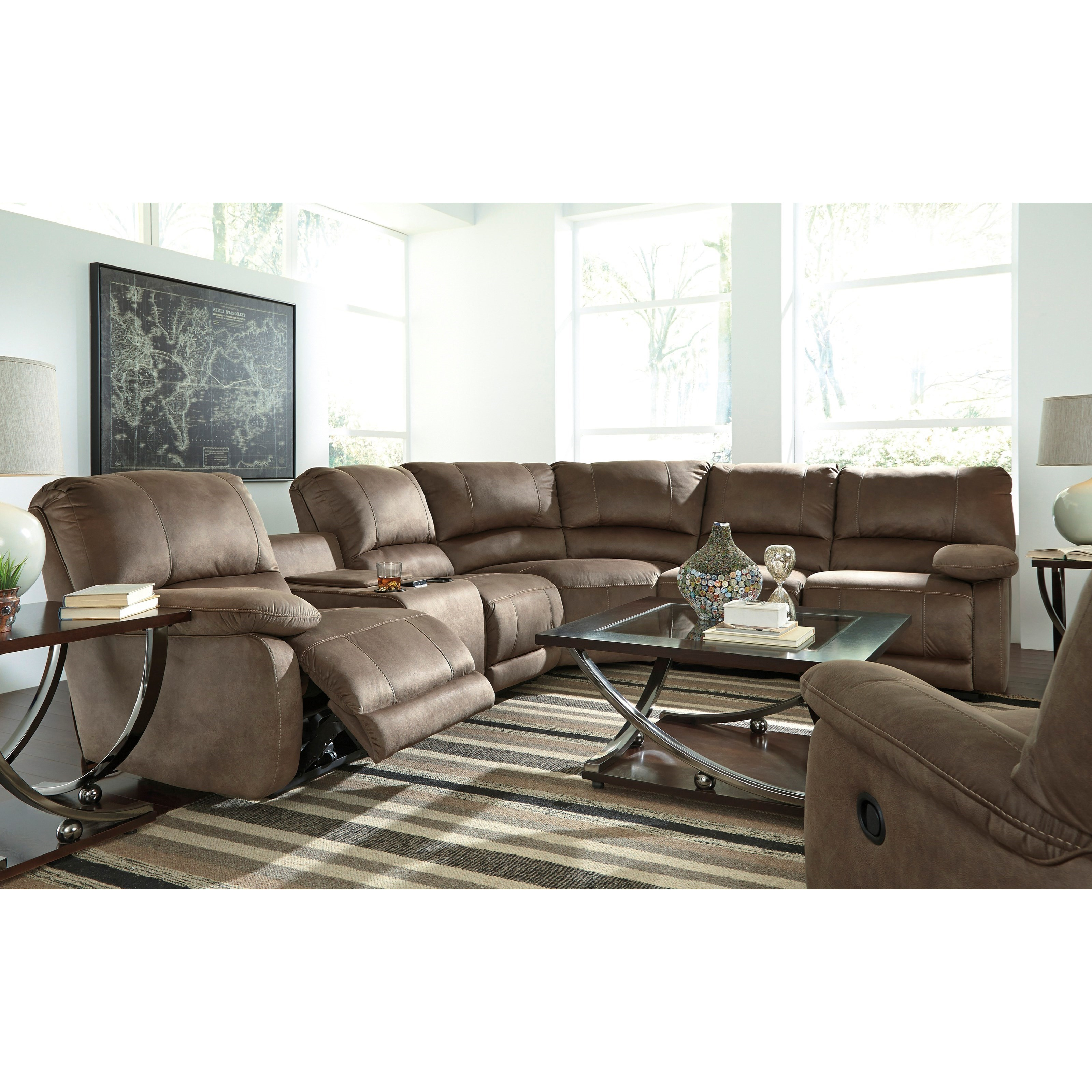 Signature Design by Ashley Seamus Reclining Living Room Group - Item Number: 41800 Living Room Group 2