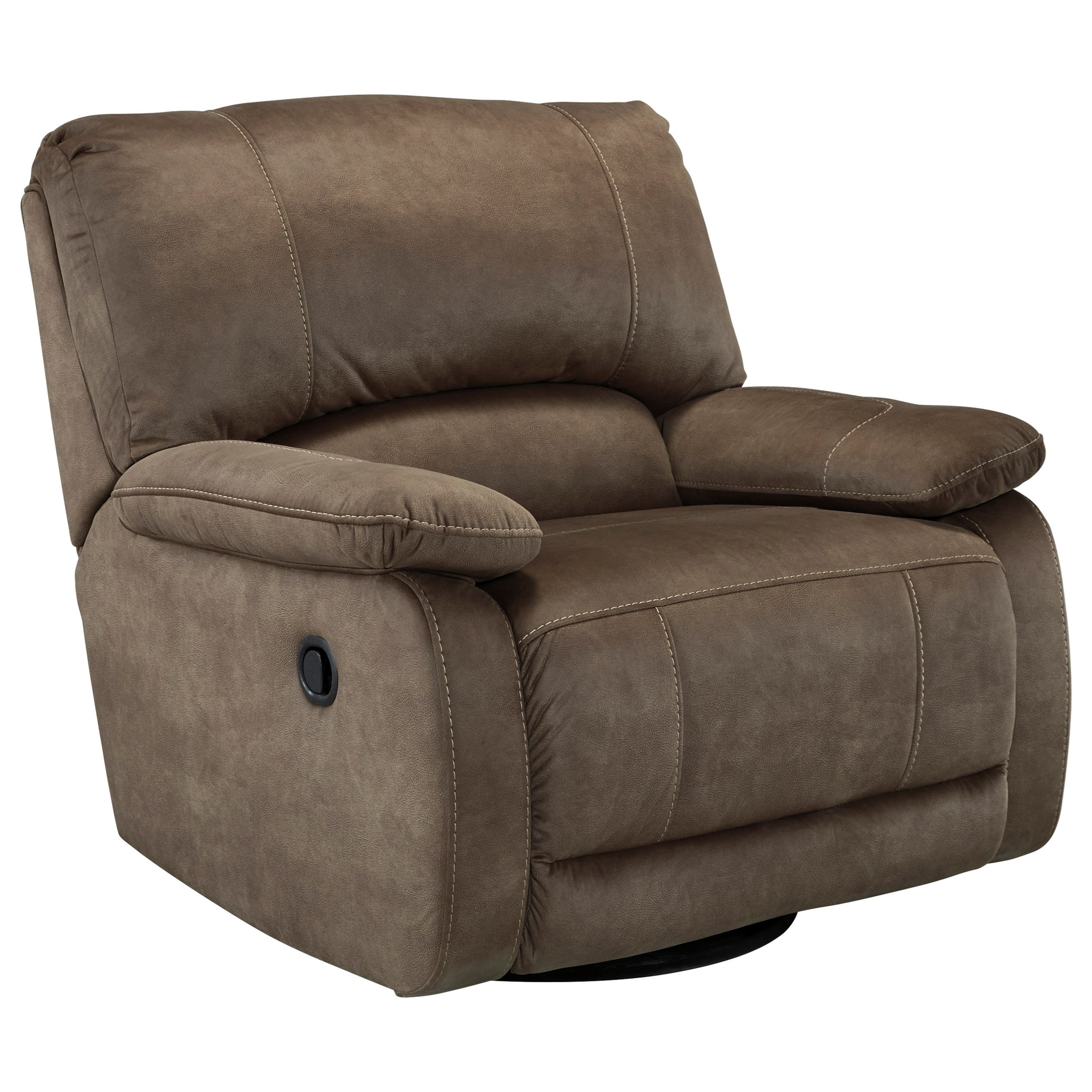 Signature Design by Ashley Seamus Swivel Glider Recliner - Item Number: 4180061