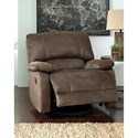 Signature Design by Ashley Seamus Swivel Glider Recliner