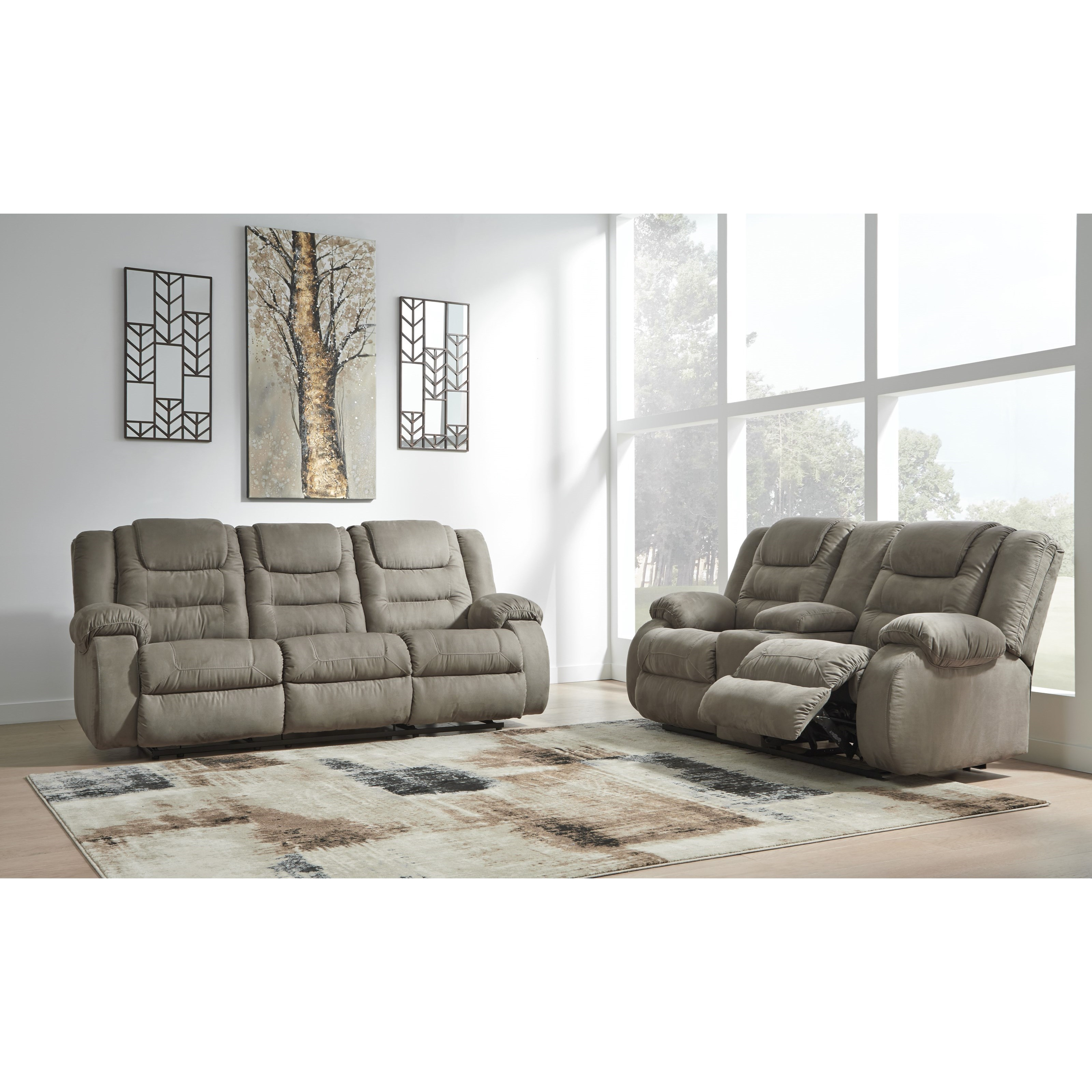 McCade Reclining Living Room Group by Signature Design by Ashley at Houston's Yuma Furniture