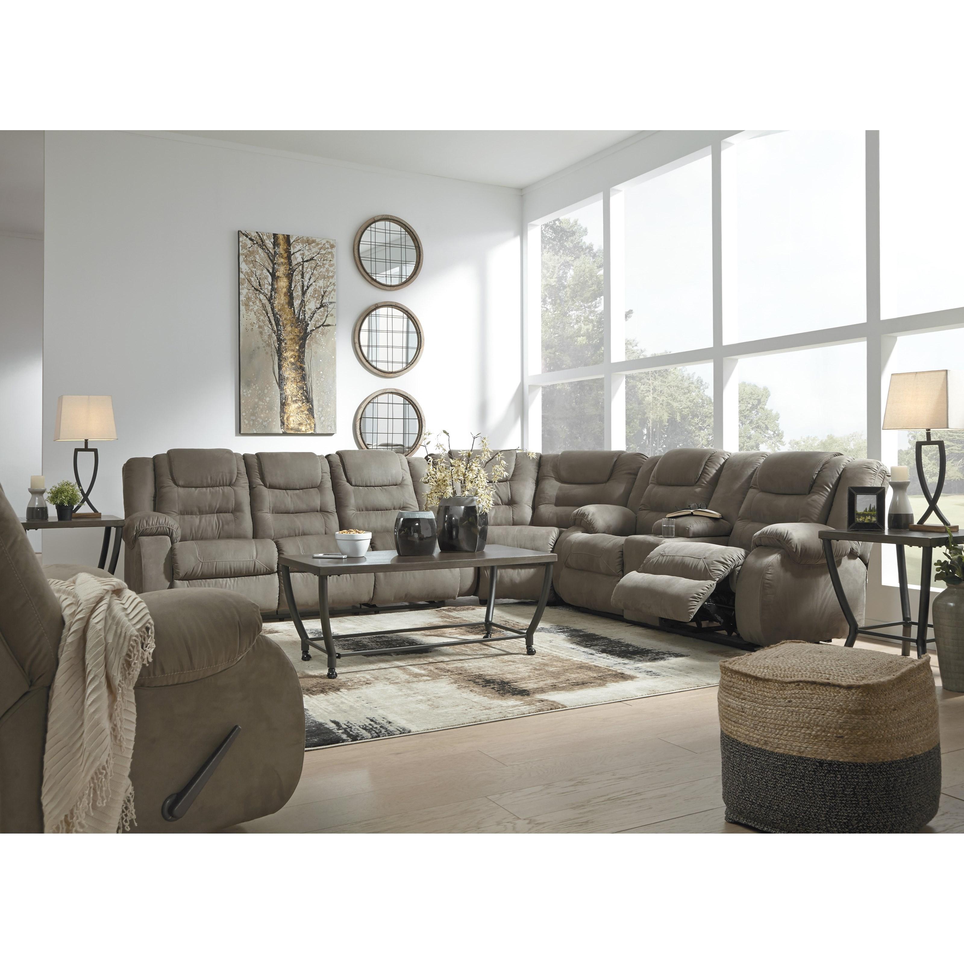 Signature Design By Ashley Segburg Reclining Living Room